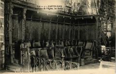 Castelnau - Interieur de l'Eglise les Salles 46 Lot