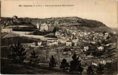 Caylus Vue prise route de Saint-Antonin - Caylus