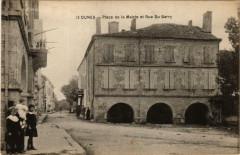 Dunes Place de la Mairie et Rue du Barry - Dunes