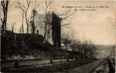 Caylus Ruines de la Vieille Tour - Caylus