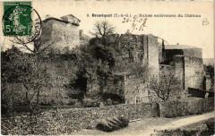 Bruniquel Ruines Extérieures du Chateau - Bruniquel