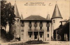 Chateau d'Angeville Hopital auxiliaire de La Croix - Rouge - Angeville