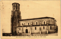 Mauvezin - L'Eglise et Clocher du Xiii Siecle - Mauvezin