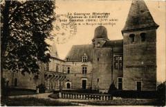 La Gascogne Historique - Chateau de Caumont pres Samatan - Caumont