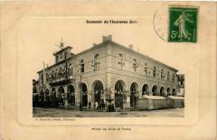 Souvenir de Fleurance - Hotel de ville et Halle - Fleurance