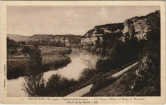 Les Eyzies - Les Gorges d'Enfer et Route de Manaurie - Les Eyzies