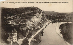 Vallee de la Dordogne a La Roque Gageac - Chateau de la Malartrie - La Roque-Gageac