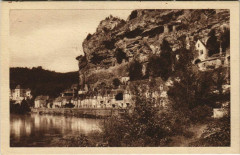 La Roque-Gageac - Vue - View - En Sarladais - La Roque-Gageac