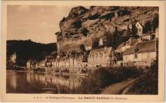 La Roque Gageac - En Sarladais - Maisons - La Roque-Gageac