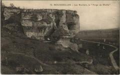 Bourdeilles - Les Rochers - La Forge du Diable - Bourdeilles