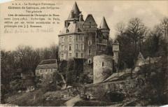 Chateau de Laroque - pres Saint-Cyprien - Vue Generale - Saint-Cyprien