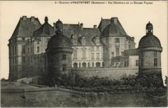 Chateau d'Hautefort - Vue Generale de la Grande Facade - Hautefort