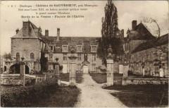 Chateau de Sauveboeuf - pres Montignac - Facade de l'Entree - Montignac