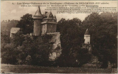 Chateau de Belcayre - Entre les Communes de Saint-Leon et de Thonac - Thonac