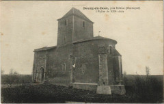 Bourg-du-Bost - pres Riberac - L'Eglise du XIIIe Siecle - Bourg-du-Bost