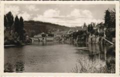 Le Bugue - La Vezere et le Pont - Vus de l'Ilot - Le Bugue