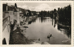 Le Bugue - Les Quais vus du Pont - Le Bugue