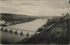Lalinde - Eglise de Saint-Font et les Rives de la Dordogne - Lalinde