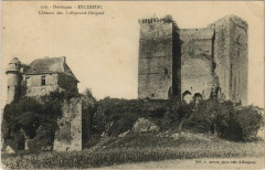 Excideuil - Chateau des Talleyrand-Perigord - Excideuil