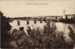 Lalinde - Le Pont sur la Dordogne - Lalinde