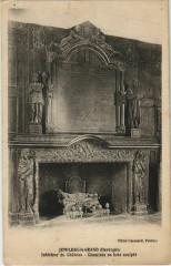 Jumilhac-le-Grand - Interieur du Chateau - Cheminee - Jumilhac-le-Grand