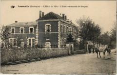 Lanouaille - L'Hotel de Ville - L'Ecole communale de Gracons - Lanouaille
