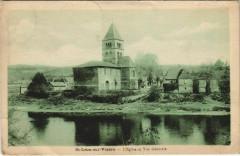 Saint-Leon-sur-Vezere - L'Eglise et Vue générale - Saint-Léon-sur-Vézère