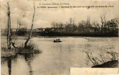 Dordogne Le Pizou Barrage et les ilots - Le Pizou