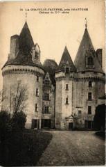La chapelle Faucher pres Brantome - Chateau du Xv siecle - La Chapelle-Faucher