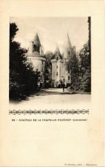 Chateau de la Chapelle Faucher - La Chapelle-Faucher