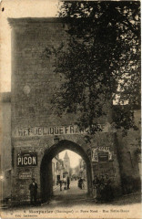 Monpazier (Dorlodne) - Porte Nord - Rue Notre-Dame - Monpazier
