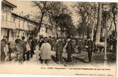 Eymet - Les grandes promenades un jour de foire - Eymet
