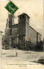 Saint-Avit Sénieur-Eglise du XIIe siécle - Saint-Avit-Sénieur