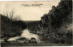 La Dordogne - Environs de Genis - L'AuVEZERE a Roche Pécout - Génis