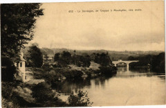 La Dordogne de Creysse a Mouleydier rive droite - Creysse