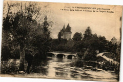 La Chapelle Faucher-Les Bords de la Colle et le Chateau - La Chapelle-Faucher