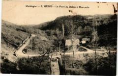 Genis - Le Pont du Dalon a Moruscle - Génis
