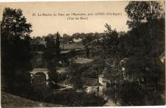 Genis - Le Moulin du pPont sur l'AuVEZERE - Génis