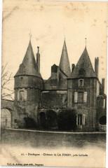 Dordogne - Chateau de La Finou pres Lalinde - Lalinde