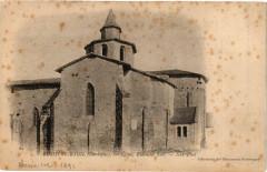 Bussiere Badil-Eglise-Ensemble Sud - Bussière-Badil
