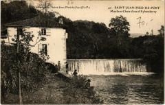 Saint-Jean-Pied-de-Port - Moulin et Chute d'eau d'Eyharaberry - Saint-Jean-Pied-de-Port