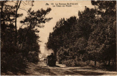 Le Bureau Saint-Palais Le Tramway en Foret Tram Vapeur - Saint-Palais