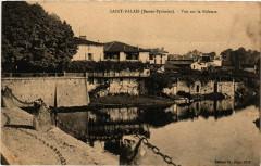 Saint-Palais (Basses-Pyrenées) - Vue sur la Bidouze - Saint-Palais
