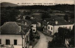Ascain - Route d'Olette - Vers la Rhune - Ascain