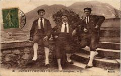 Scenes et Types des Pyrenées - Montagnards - Mont
