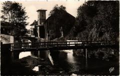 Saint-Jean-Pied-de-Port - Pont sur la Nive et le Clocher Navarris - Saint-Jean-Pied-de-Port