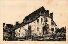 Orthez (Basses-Pyrenées) - Hotel de Gramont (depart) - Orthez