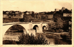 Navarrenx - Le Pont et les Fotifications - Navarrenx