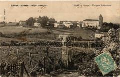 Eskual Herris (Pays Basque) - Sare-Paysage - Vue prise de Galarrets - Sare