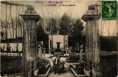 Cambo - Le Pont suspendu - Sus